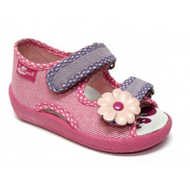 Ren But sandal roż/fiolet