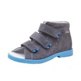 Dawid obuwie profilaktyczne kolorszary/niebieski