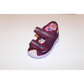 Nazo, sandał, fiolet