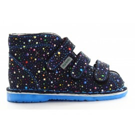 Danielki -dot navy blue
