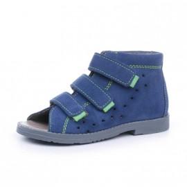 Dawid obuwie profilaktyczne kolor niebiieski/zielony