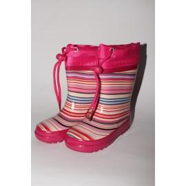 Nela - kolor różowy w paski