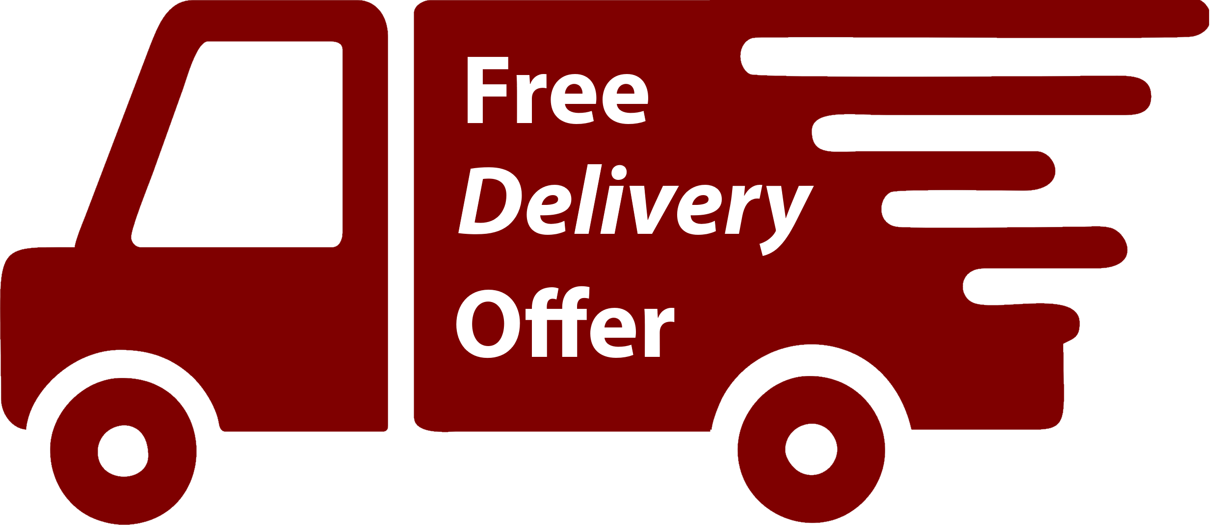 free delivery order over GBP 25.00