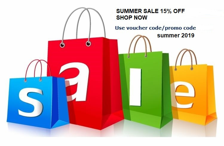summer sale 15%OFF